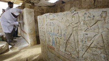 Deux tombes de chefs militaires pharaoniques dévoilées | ICI.Radio-Canada.ca | Découvertes achéologiques en Egypte | Scoop.it