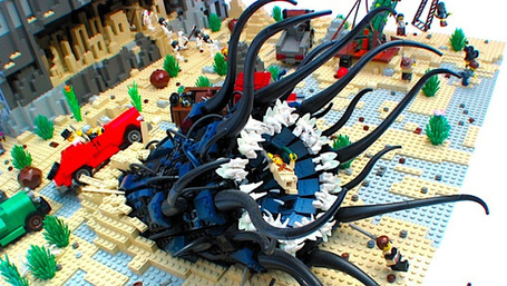 These Cthulhu LEGO sets will drive you insane with little plastic bricks | Stuff that Tweaks | Scoop.it