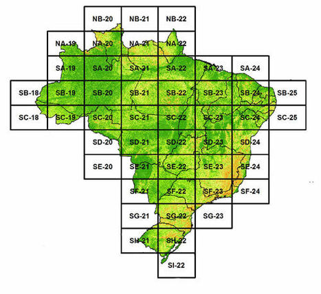 Mapa de Declividade em Percentual do Relevo Brasileiro - SOS GISbr | ArcGIS-Brasil | Scoop.it