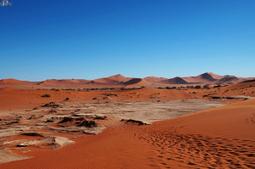 EPOC: Namibian desert - Footsteps | EPOC - Extraordinary People | Scoop.it