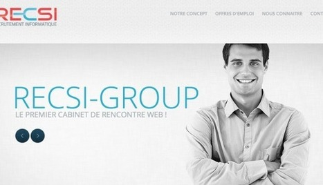 RECSI-Group lance le 1er Meetic affinity du recrutement ! - | Innovating Recruitment | Scoop.it