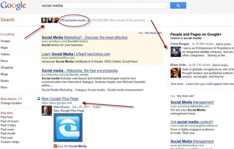 Game Changer: Google Plus Changes Search And Social Media Marketing | GooglePlus Expertise | Scoop.it