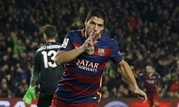 Luis Suárez hat-trick helps Barcelona to beat Athletic Bilbao 6-0 - The Guardian | AC Affairs | Scoop.it