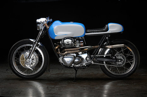 "Kawasaki W650 ""Bean"" by Revival Cycles 