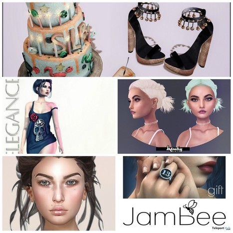 Several Second Life 13 Birthday Gifts at Tres Chic June 2016 Round | Teleport Hub - Second Life Freebies | Second Life Freebies | Scoop.it
