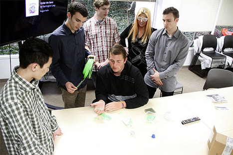 From discarded plastics to 3D printer 'ink' - Bellevue Reporter | Mind Moving Media | Scoop.it