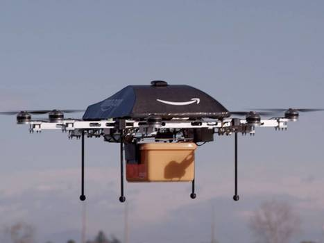 Amazon unveils drone delivery service | Fight and Flight | Scoop.it