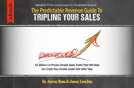 """The PR Guide To Tripling Your Sales"" Is Live! - Predictable Revenue 