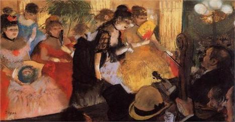 The Cafe Concert, 1877 Edgar Degas   Favorite Paintings digital   Scoop.it