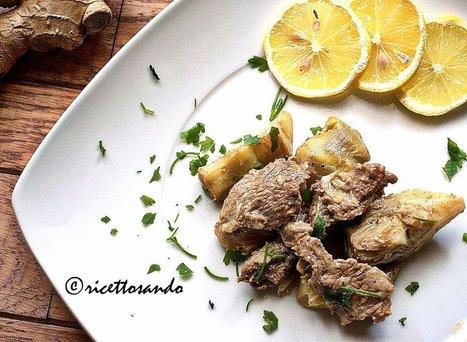 Ricettosando - ricette di cucina e chiacchiere: Straccetti di manzo con carciofi | Ricettosando | Scoop.it