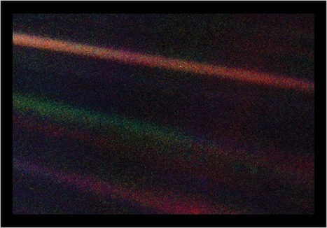 """PALE BLUE DOT"" 