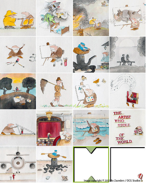 "Making of ""The Artist Mortimer"" 