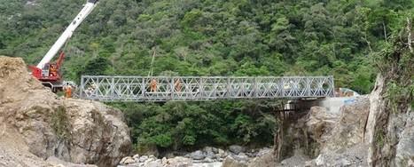 Puente de acceso a obras C200 en Lluto, Perú | Ingenieros Civiles | Scoop.it