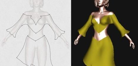 Marie-Paule Cani veut mettre la création virtuelle 3D à la portée de tous | Cabinet de curiosités numériques | Scoop.it