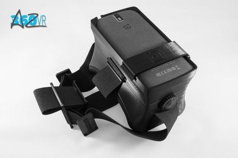 Introducing the 3D Printable VR Headset | 3D Virtual-Real Worlds: Ed Tech | Scoop.it
