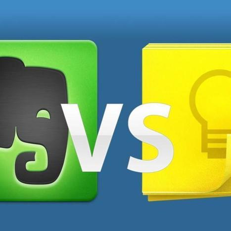Evernote vs. Google Keep: Which Does More? | iPads in university lecturing | Scoop.it