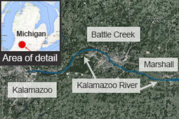Enbridge's Kalamazoo cleanup dredges up 3-year-old oil spill - Business - CBC News | Oil Spill Response | Scoop.it