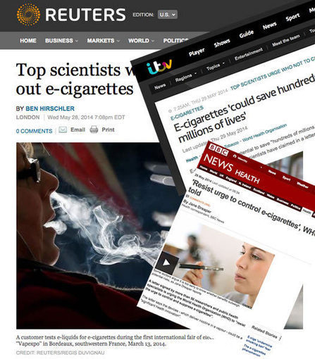 Q: How many public health specialists does it take to change WHO's lightbulb? | E Cigarettes UK | Scoop.it