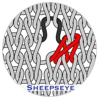 """TECHknitting: The sheepseye buttonhole, also called the """"yarn over ... 