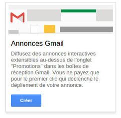 Créer une campagne Adwords pour Gmail | Campagnes web | Scoop.it