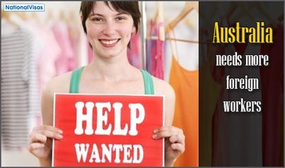Foreign workers needed to fill workforce gap in regional Australia   Skilled Workers in Australia   Scoop.it