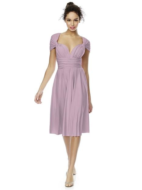 Dessy Twist Wrap Dress Short | Bridesmaid Dresses | Scoop.it