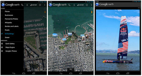 Google Earth for Android now remembers long-forgotten geotagged ... | Google Earth | Scoop.it