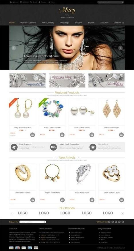 SM Macy, Magento Responsive Jewelry Theme | Premium Download | Premium Magento Themes | Scoop.it