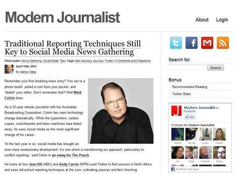 Modern Journalist | Top sites for journalists | Scoop.it