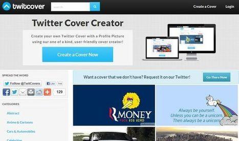 Twitcover, descarga cientos de portadas para Twitter o créalas tu mismo | EDUDIARI 2.0 DE jluisbloc | Scoop.it