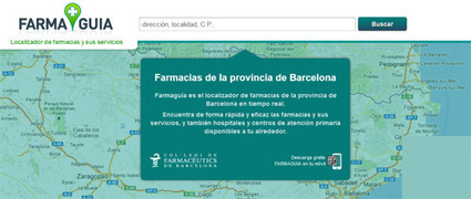 El COFB crea una app para localizar farmacias de guardia | Salud Social Media | Scoop.it