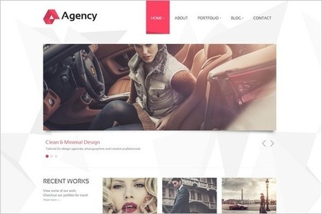 6 New Awesome WordPress Themes from ThemePURE | WP Daily Themes | Free & Premium WordPress Themes | Scoop.it
