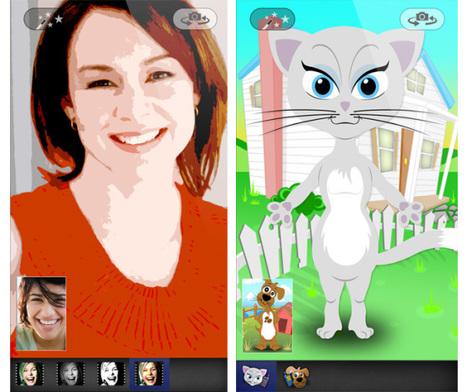 Video-calling app Tango adds Instagram-like filters & cute animal avatars - VentureBeat   PHOTOS ON THE GO   Scoop.it