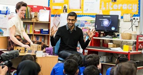 Google wants to share VR with one million UK school kids | aect | Scoop.it