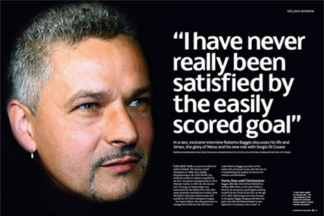 Roberto Baggio is still on the case - Professor Champions League ... | Football (soccer) legends | Scoop.it