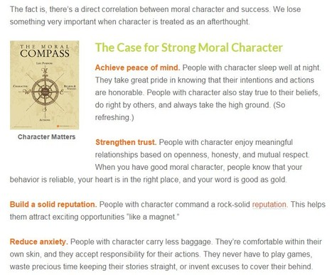 Moral Character Matters | Social Media | Education | eSkills | eCitizen | FootprintDigital | Scoop.it