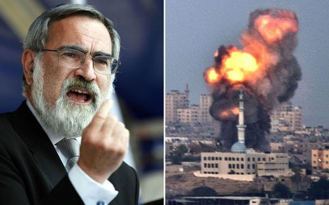 BBC apologises after Chief Rabbi blames Iran for Gaza conflict | The Indigenous Uprising of the British Isles | Scoop.it