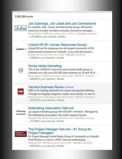 The 10 Largest Groups on LinkedIn | LinkedIn communities | Scoop.it