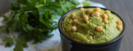 Herbed Hummus - Forks Over Knives | Vegan Food | Scoop.it