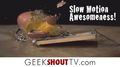This Is Why Destroying Things In Slow Motion Is So Awesome - Geek Shout TV — Geek Shout TV | new technolagy | Scoop.it