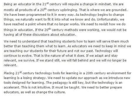 Stop 20th Century Thinking | 21st Century Learning Waimea College | Scoop.it