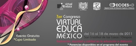 Acta de Congreso 4  VIRTUAL EDUCA | Competencia Digital, en el Profesorado | Scoop.it