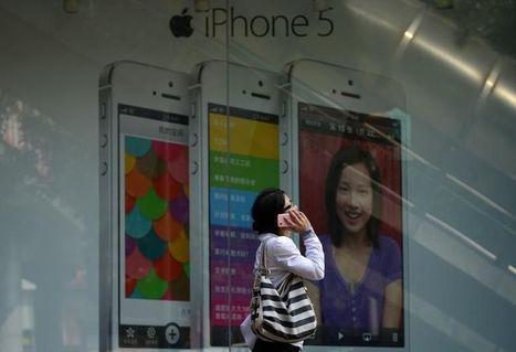 Apple vise haut pour son iPhone en Chine | Chine & Intelligence économique | Scoop.it