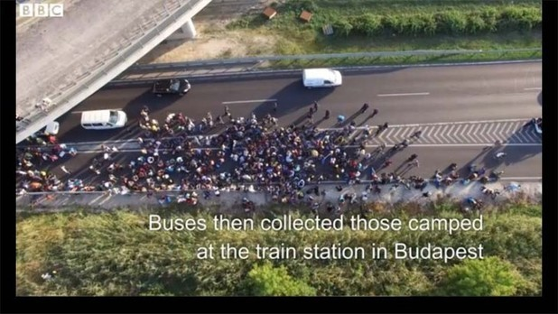 Drone Provides a Birds-Eye View of Refugee Tragedy