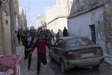 Happy New Years? #Syria starts 2013 with aerial strikes and clashes | News from Libya | Scoop.it
