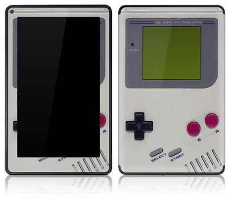 Amazon Kindle Fire resembles a Game Boy with new skin | Ubergizmo | Minisuit | Scoop.it