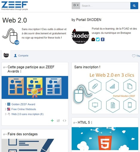 Portail d'outils Web 2.0 | Time to Learn | Scoop.it