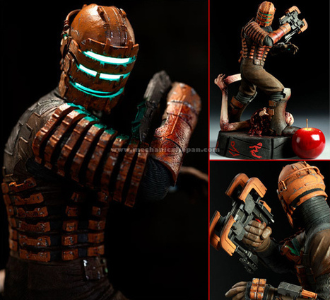 Mechanical Japan: Deep Space - Isaac Clarke (Sideshow Toys) | VIM | Scoop.it