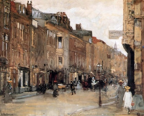 "Floris Arntzenius ""Noordeinde Den Haag"" 