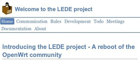 LEDE (Linux Embedded Development Environment) Project is a Fork of OpenWrt | Embedded Systems News | Scoop.it